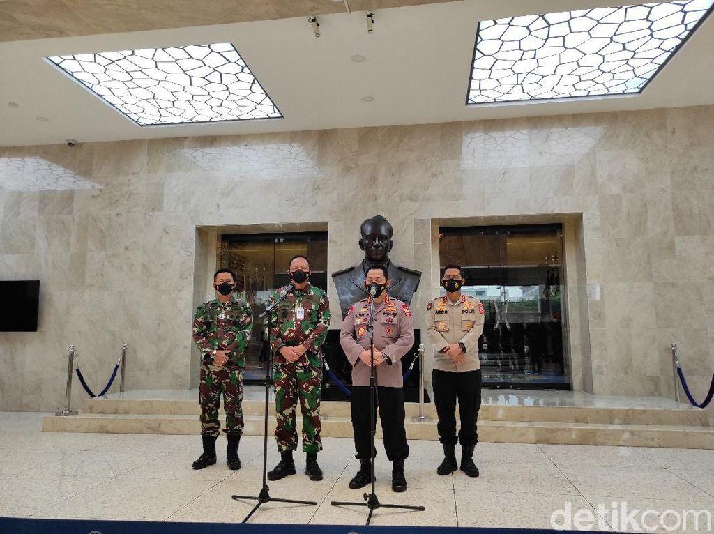 Kapolri Jenderal Sigit Sambangi Mabes TNI AU, Perkuat Soliditas-Sinergitas