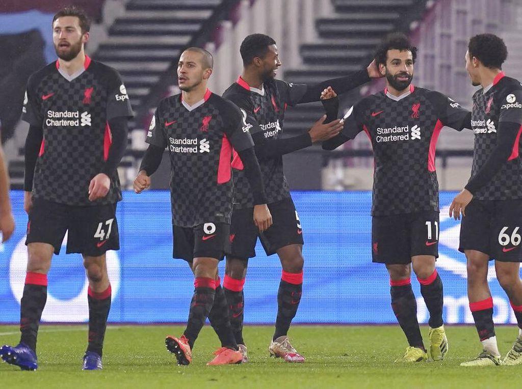 Liverpool Akan Terus Perjuangkan Finis Empat Besar