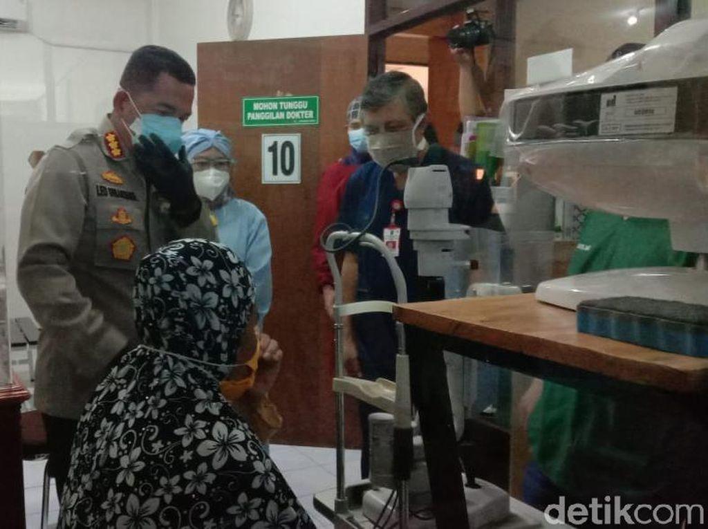 Operasi Katarak Gratis dengan Prokes COVID-19 Digelar di Malang