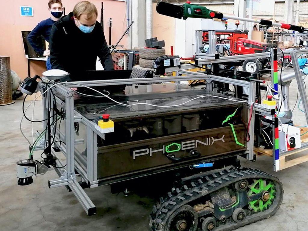 Jerman Bikin Robot Pemotong Pohon, Tukang Kebun Bisa Santai