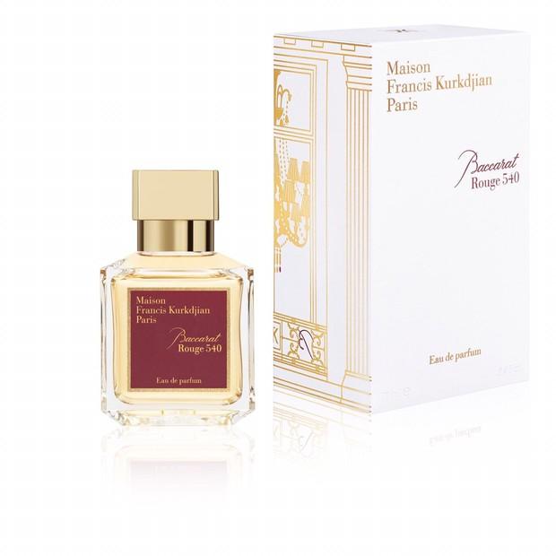 Rouge 540 Eau De Parfum Baccarat/source:us.baccarat.com