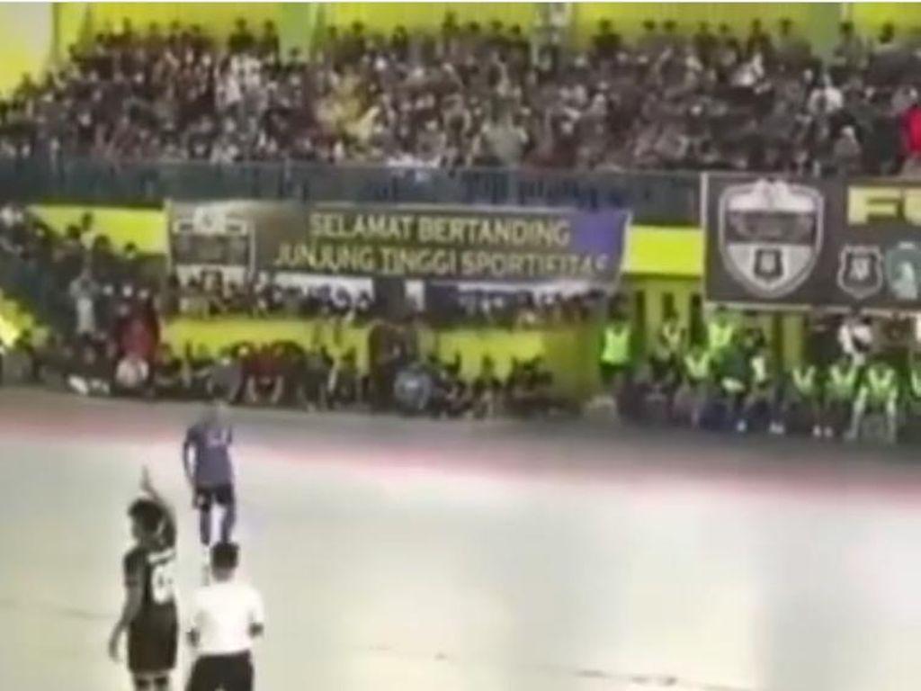 Ikut Main Futsal Bikin Kerumunan Jadi Pemicu Kanit Polsek Medan Kota Dicopot