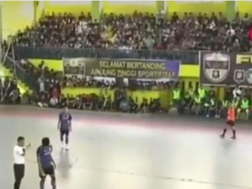 Tanding Futsal Polsek Medan Kota Vs Alwashliyah Berujung Pemeriksaan