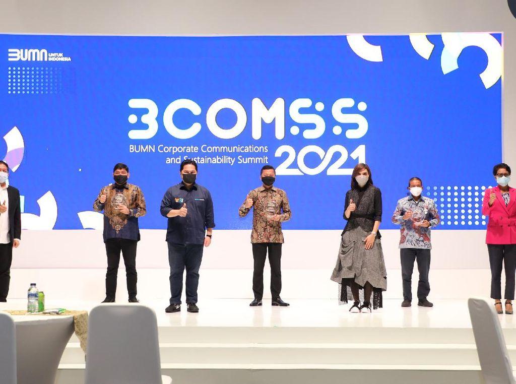 Kembangkan Program Sampah Jadi Emas, Telkom Raih Penghargaan di BCOMSS