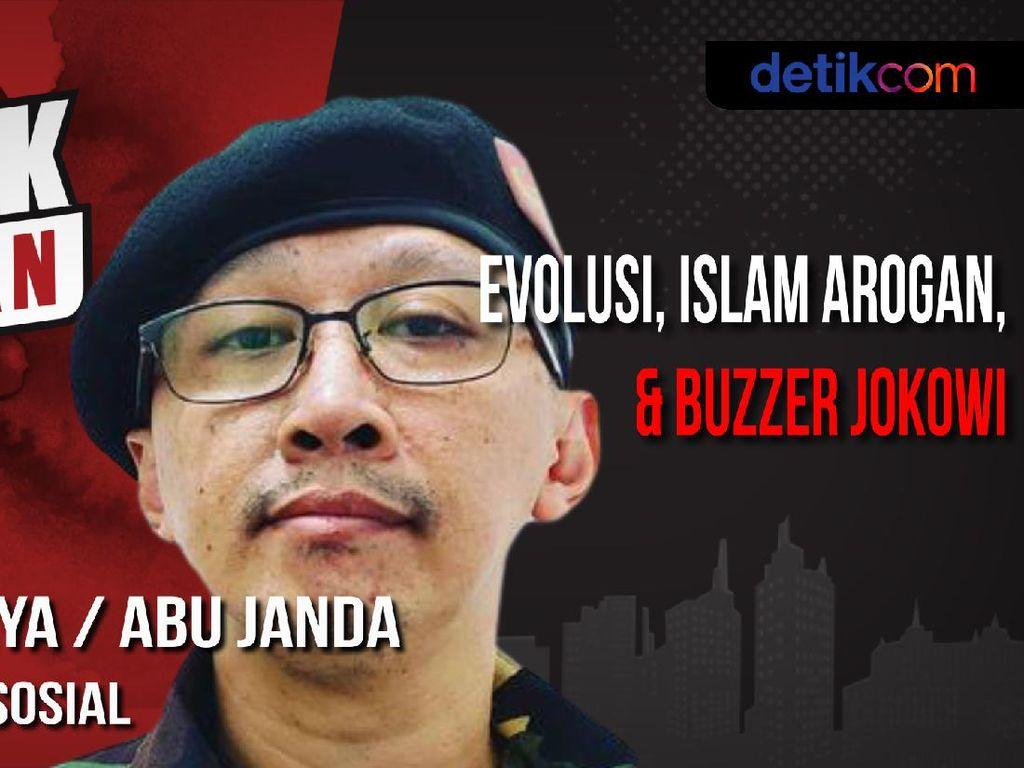 Blak-blakan Abu Janda Soal Rasis dan Islam Arogan