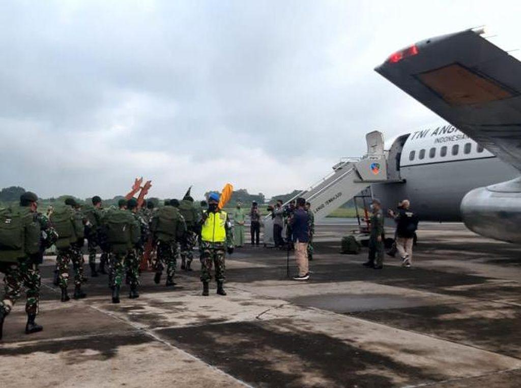 KKB Serang Warga-Aparat Bikin Para Raider 501 Kostrad Merapat