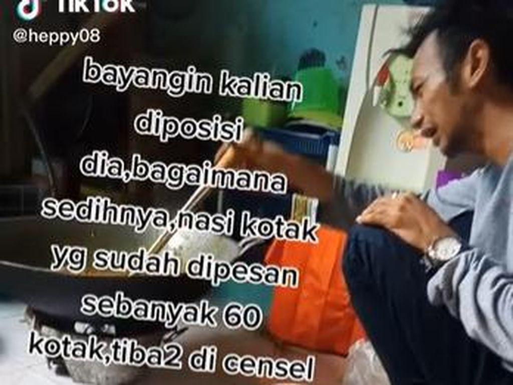 Pria Nangis Sambil Masak hingga Tagihan Tahu Gejrot Rp 106 Juta