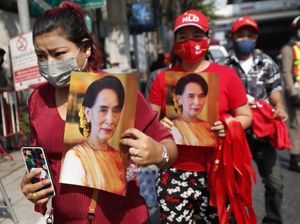 Tertular Corona di Penjara, Orang Kepercayaan Aung San Suu Kyi Meninggal