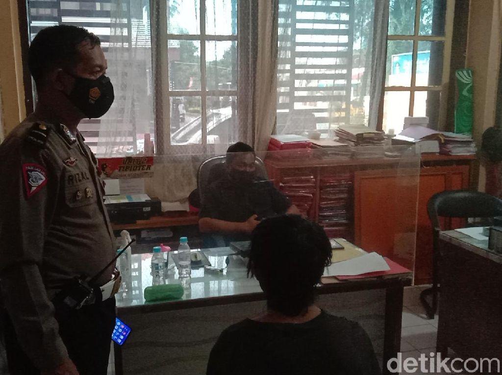 Sopir Angkot yang Sengaja Senggol Polisi di Probolinggo Tertangkap
