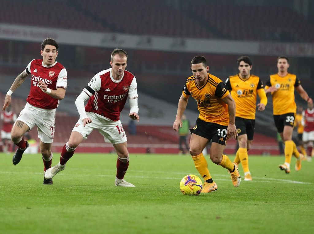 Link Live Streaming Wolverhampton Vs Arsenal