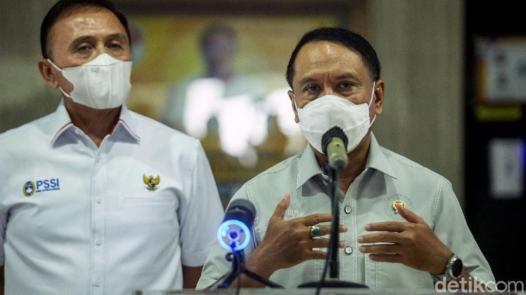 Bahas Nasib Liga Indonesia, Ketum PSSI Bertemu Menpora
