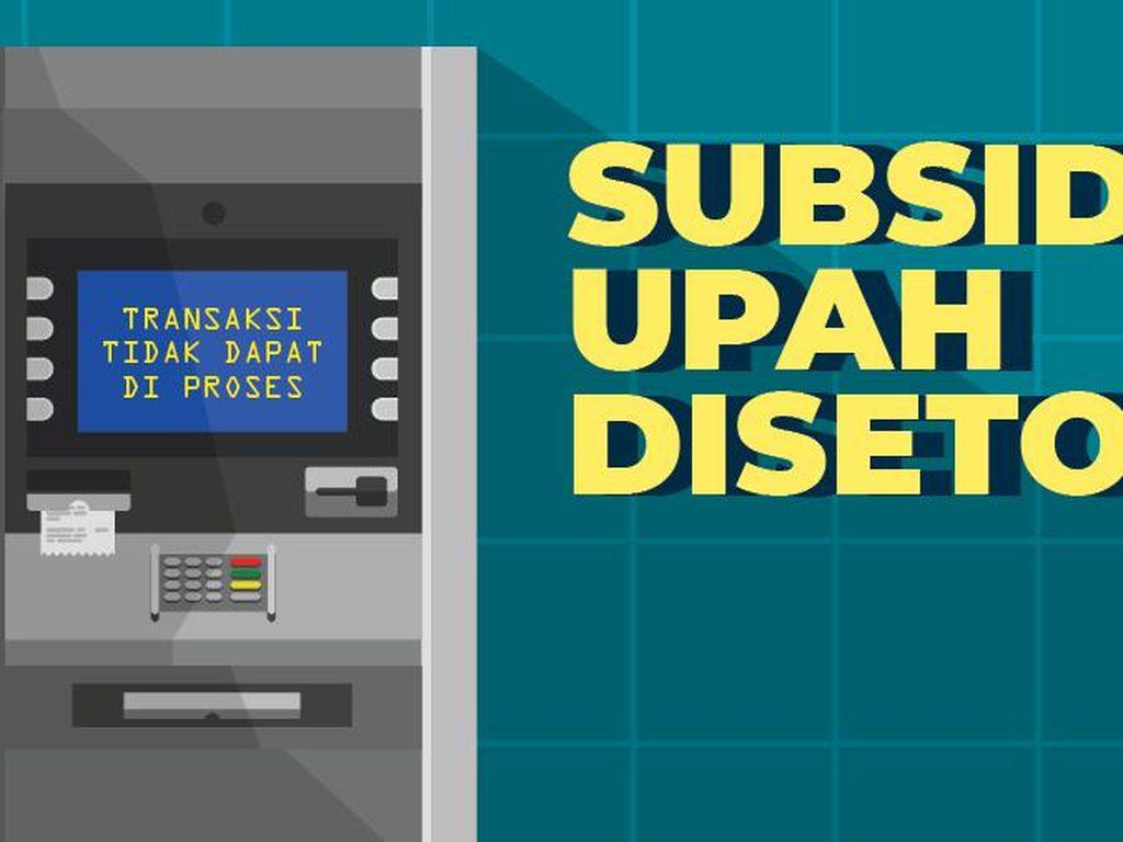 BLT Subsidi Upah Disetop, Pemulihan Ekonomi RI Diramal Seret