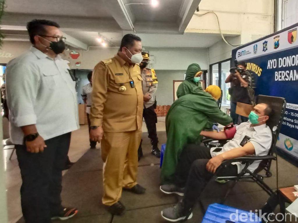 Jumlah Pendonor Plasma Konvalesen di Rungkut Surabaya Lampaui Perkiraan