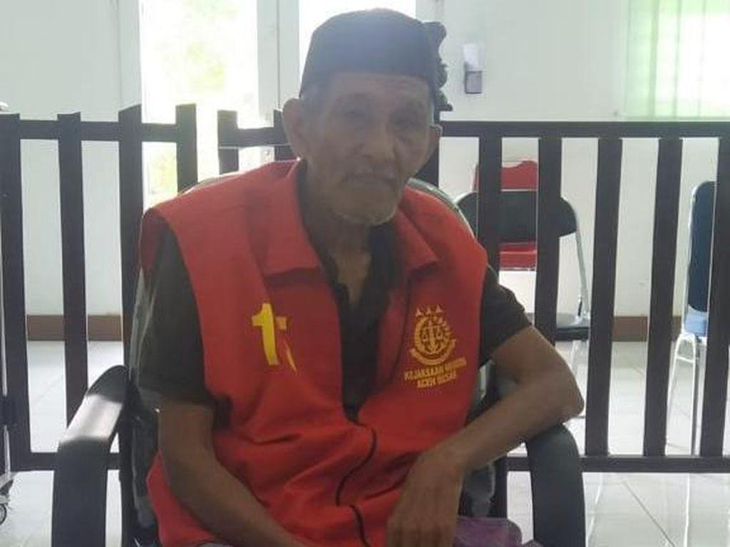 Predator Seksual Kakek 78 Tahun di Aceh Dihukum 15 Tahun Penjara
