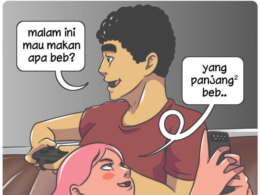 Komik Strip Om Bebih Pernah Dipersekusi Netizen