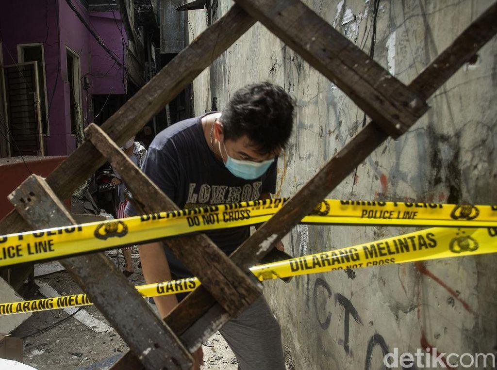 Ledakan di Penjaringan Akibatkan 4 Orang Luka, Dipicu Tabung Gas Bocor!