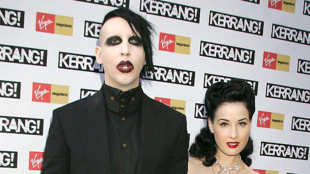 Deretan Wanita yang Pernah Mengisi Hati Marilyn Manson