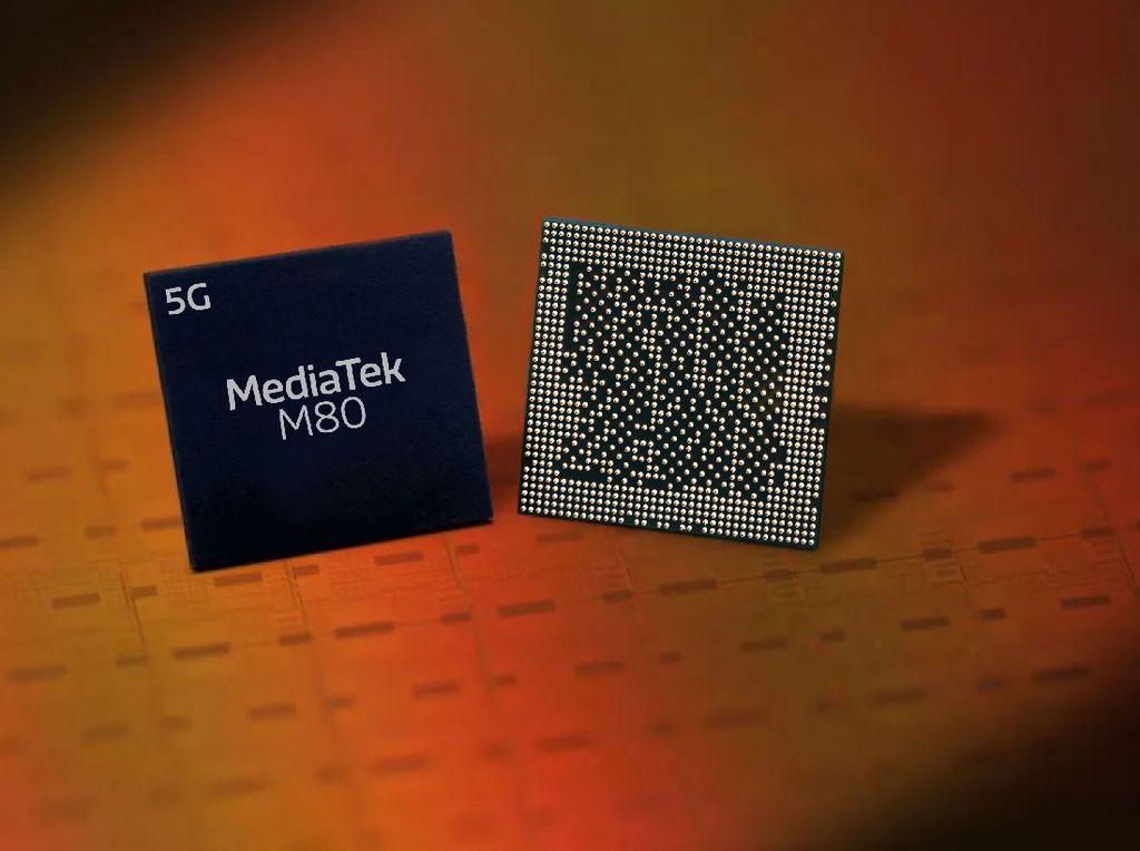MediaTek Luncurkan Modem M80 5G Tembus Kecepatan Downlink 7,67 Gbps