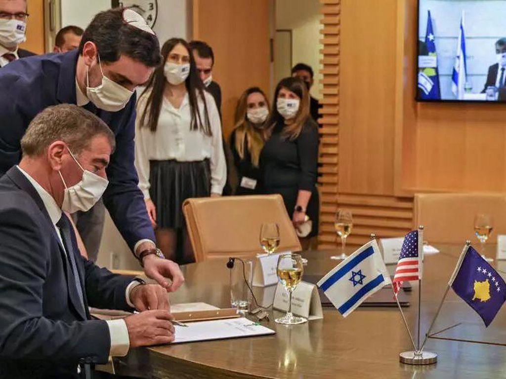 Israel Buka Hubungan Diplomatik dengan Kosovo, Serbia Kesal