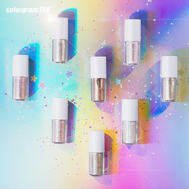 Varian-varian yang tersedia dalam produk Milk Bling Shadow Colorgram