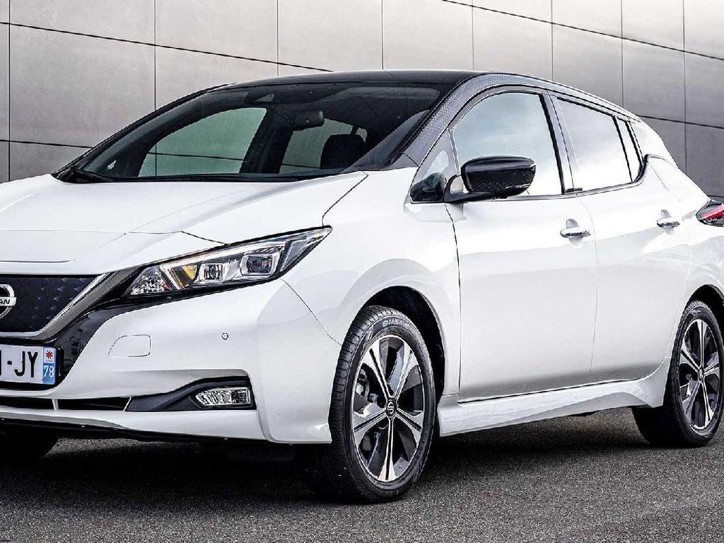 Nissan Leaf Bersolek di Ultah ke-10