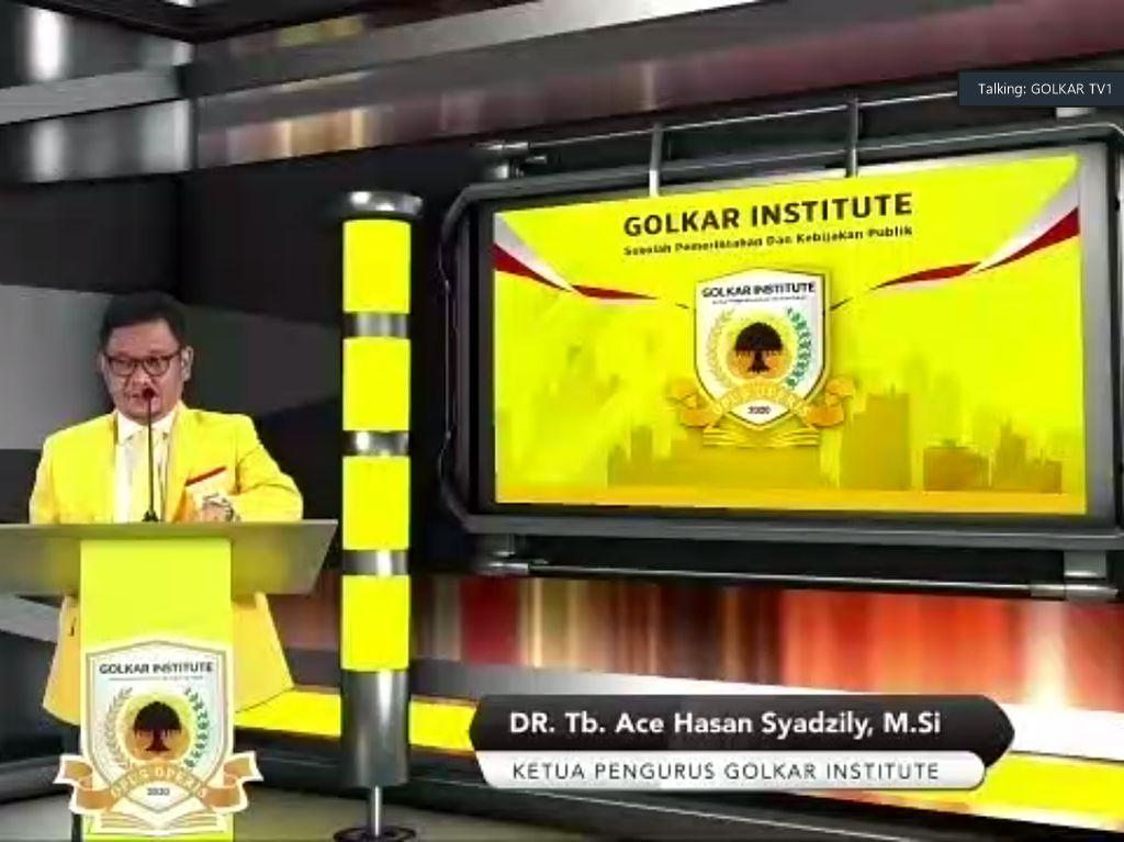 Baru Diluncurkan, Golkar Institute Targetkan Buka Prodi S2 Tahun Ini