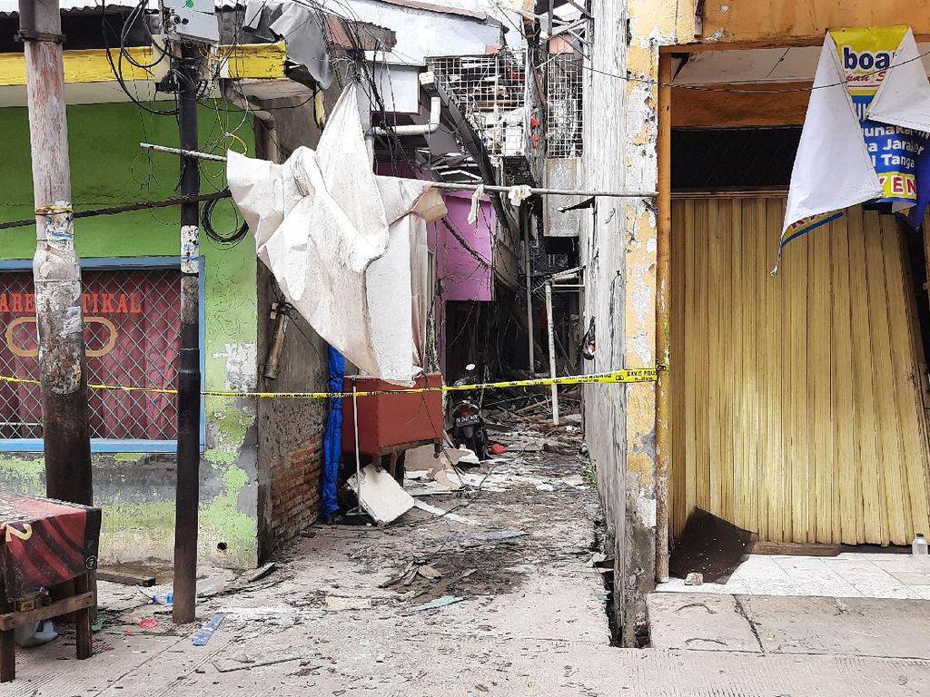 4 Orang jadi Korban Akibat Ledakan dalam Rumah Warga di Penjaringan
