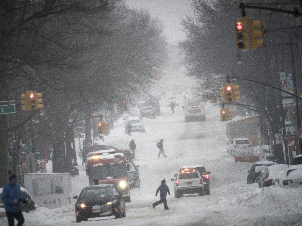 Badai Musim Dingin Terburuk Melanda Texas