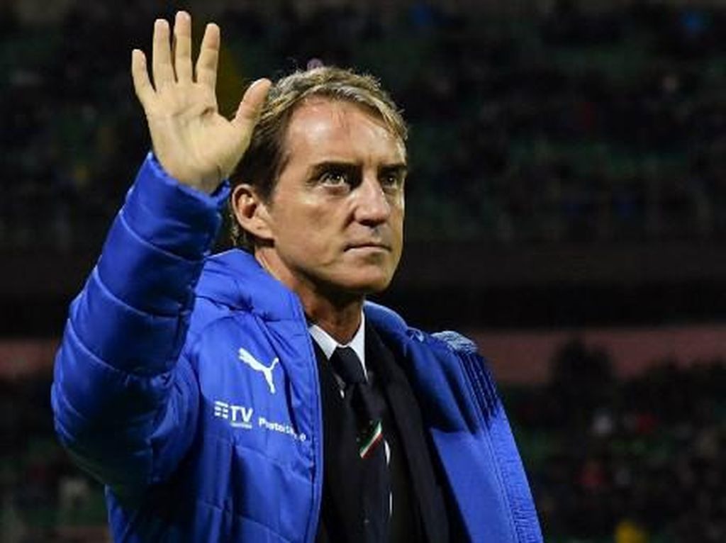 Mancini Minta Jumlah Pemain di Skuad Piala Eropa Ditambah karena...