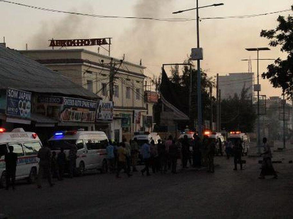9 Orang Tewas dalam Serangan Hotel di Ibu Kota Somalia