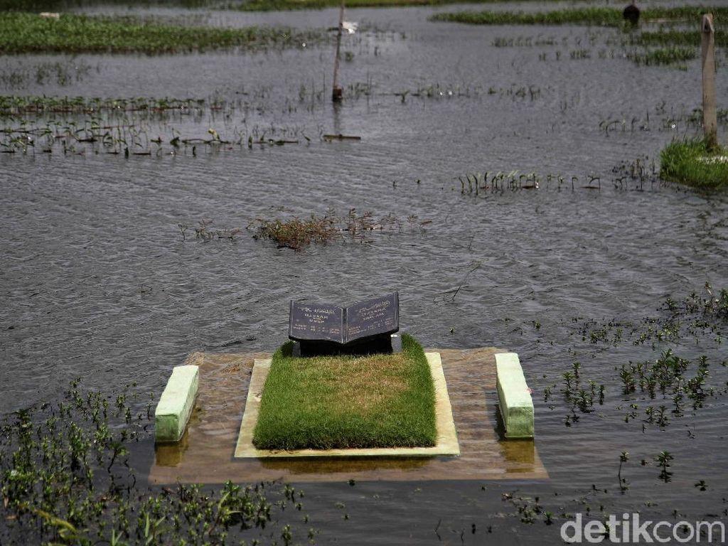 Nasib Tragis TPU Semper, Terancam Hilang Gegara Banjir Rob