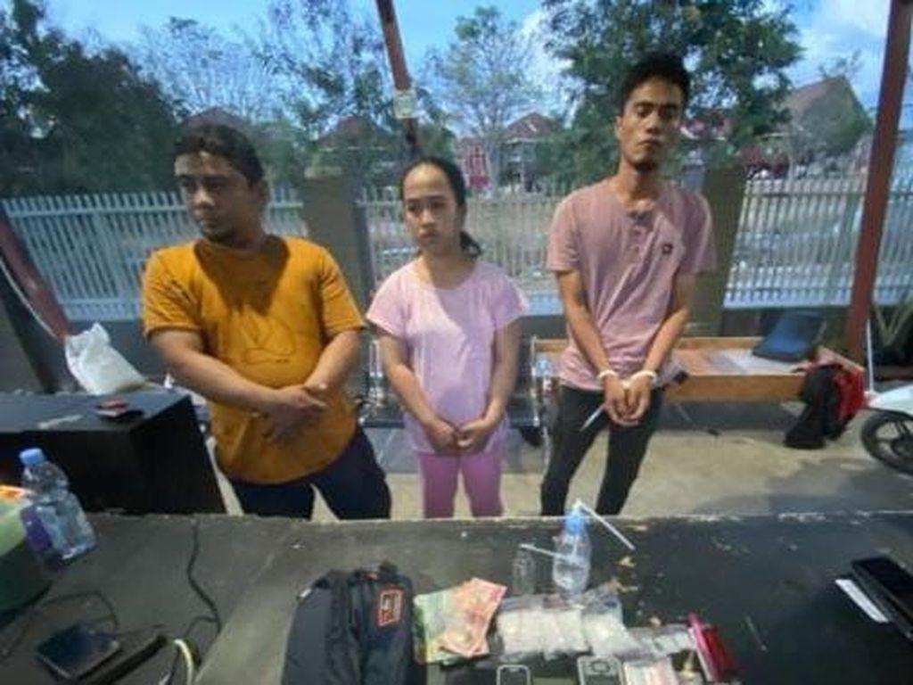 3 Pengedar Sabu Jaringan Napi Makassar Ditangkap di Palu