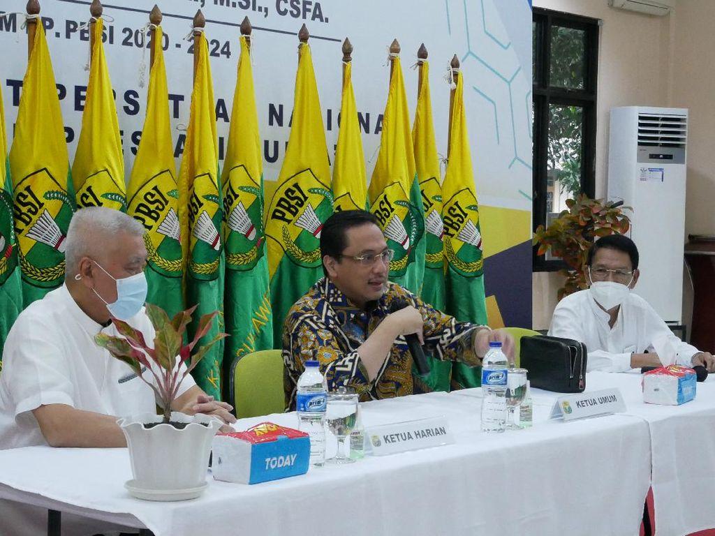 Kata Ketum PBSI soal Hasil Tim Bulutangkis Indonesia di Thailand