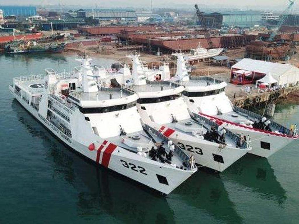 Jaga Laut Natuna, Kapal Bakamla Dilengkapi Senjata Berkaliber 30 mm