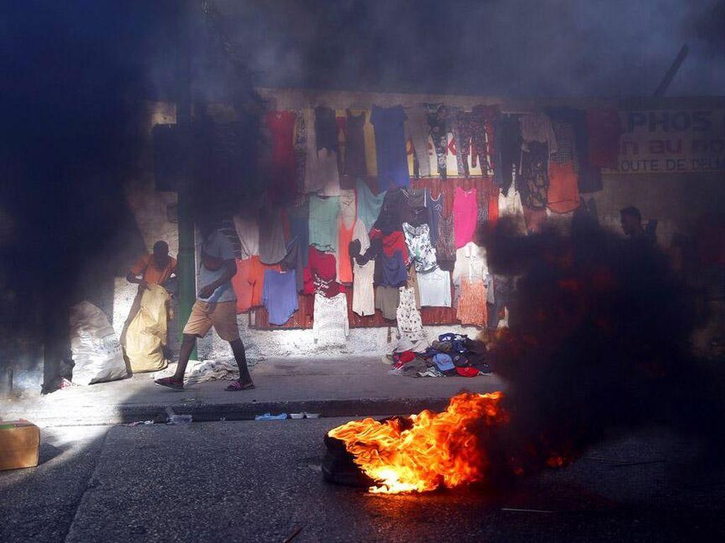 Demo Rusuh dan Kudeta Gagal di Haiti, Puluhan Pejabat Ditangkap!