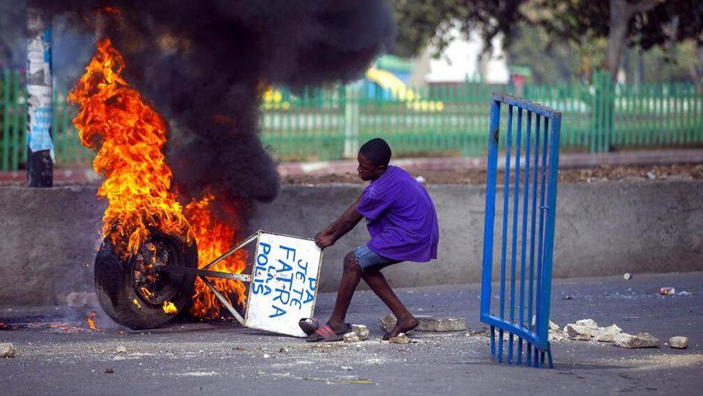 Demo Tuntut Presiden Haiti Mundur Berakhir Ricuh