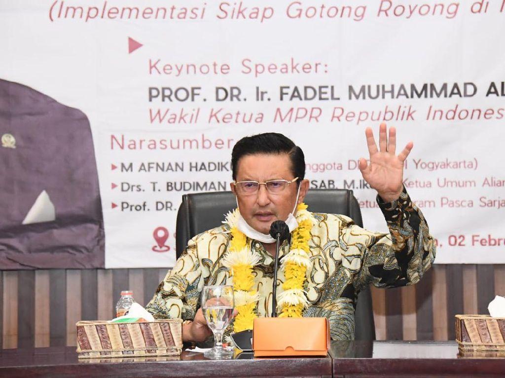 Sosialisasi 4 Pilar, Wakil Ketua MPR Singgung Lepasnya Timor Timur