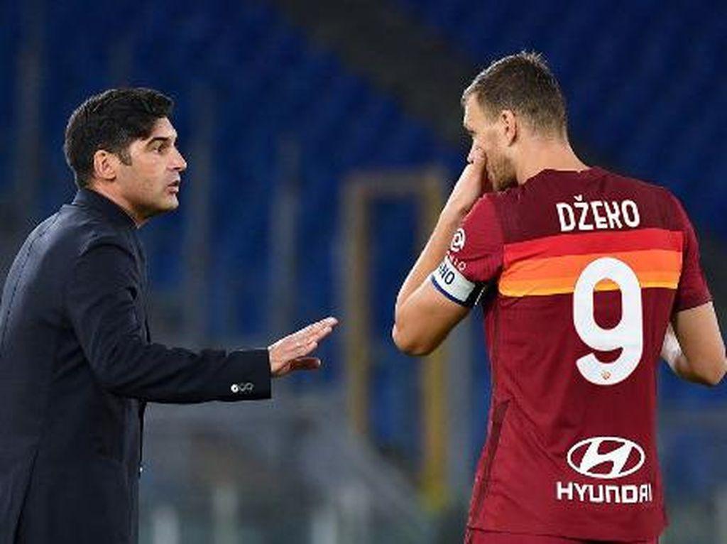 Situasi di AS Roma: Dzeko Sudah Berdamai dengan Fonseca, tapi...