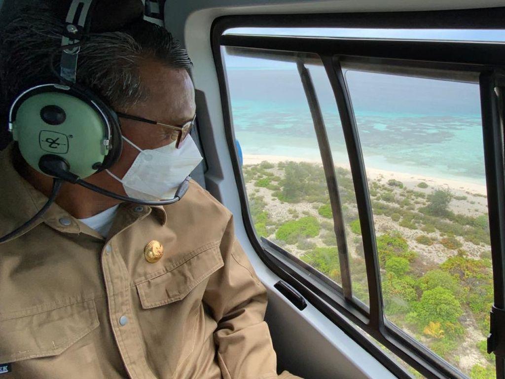 Gubernur Kunjungi Pulau Lantigiang: Masih Alami, Tak Ada Sentuhan Manusia