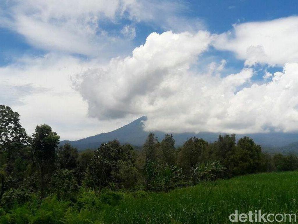 Asap Gunung Raung Membumbung, Hujan Abu Mulai Terjadi