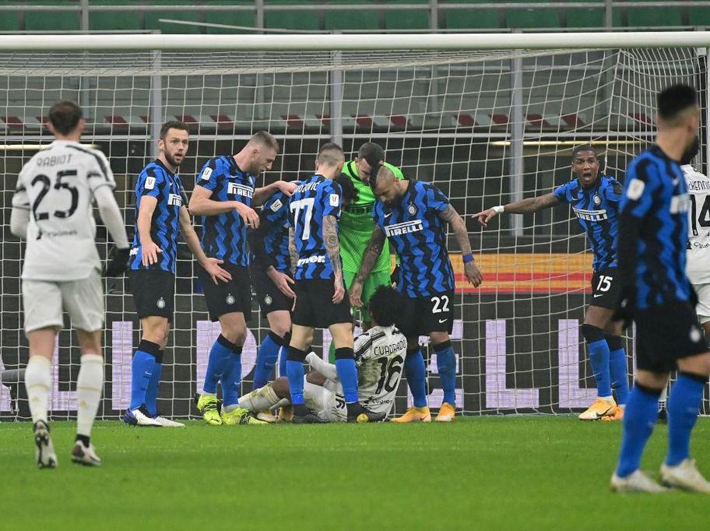Inter Kalah di Leg Pertama Coppa Italia, Conte Masih Pede Lolos