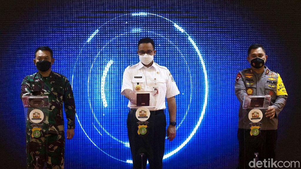 Kapolda Metro hingga Anies Luncurkan Gerakan Jakarta Bermasker