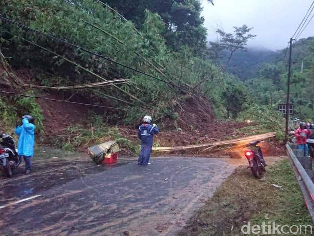 Longsor Susulan di Pujon, Jalur Malang Kediri Tutup Total