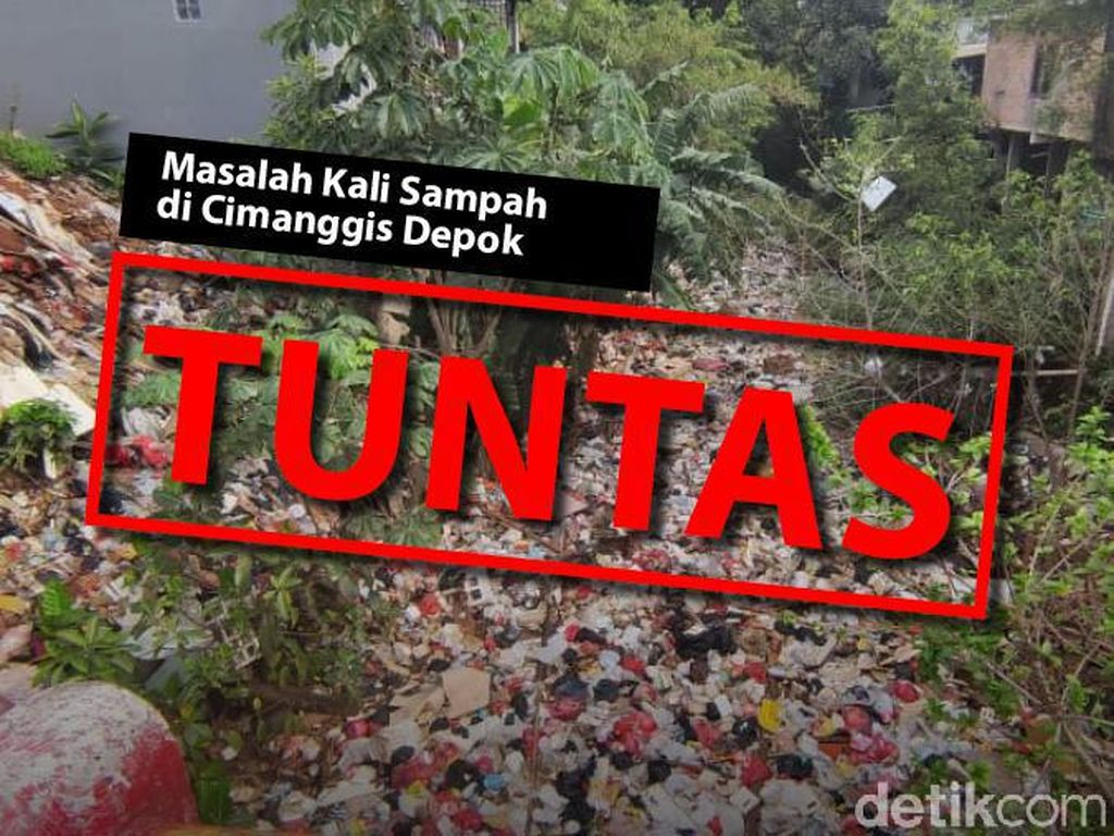 Before-After Sungai di Cimanggis Depok: Dulu Kali Sampah, Kini Bersih