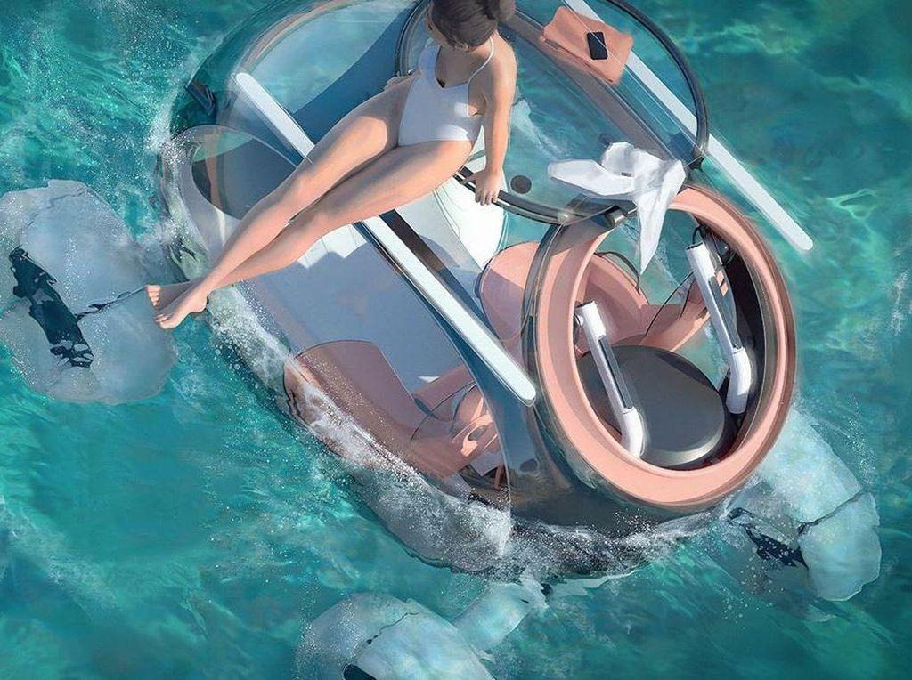 Canggih! Mobil Konsep Audi Ini Bisa Jalan di Segala Medan Termasuk Air!