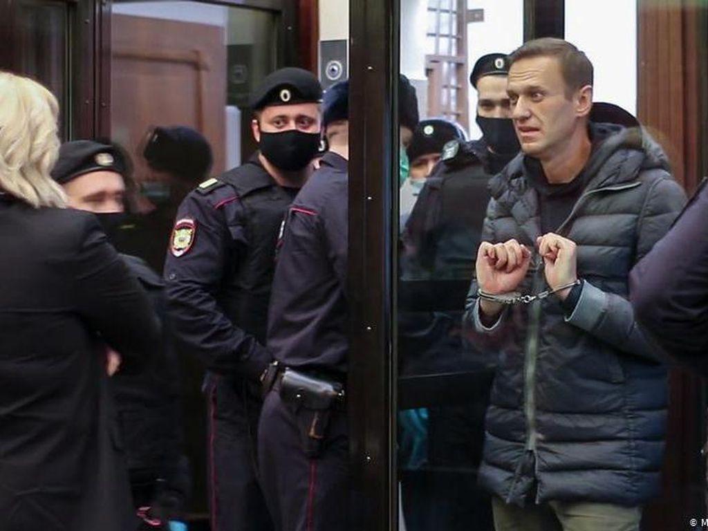 Meningkatnya Gelombang Protes Tuntut Pembebasan Alexei Navalny