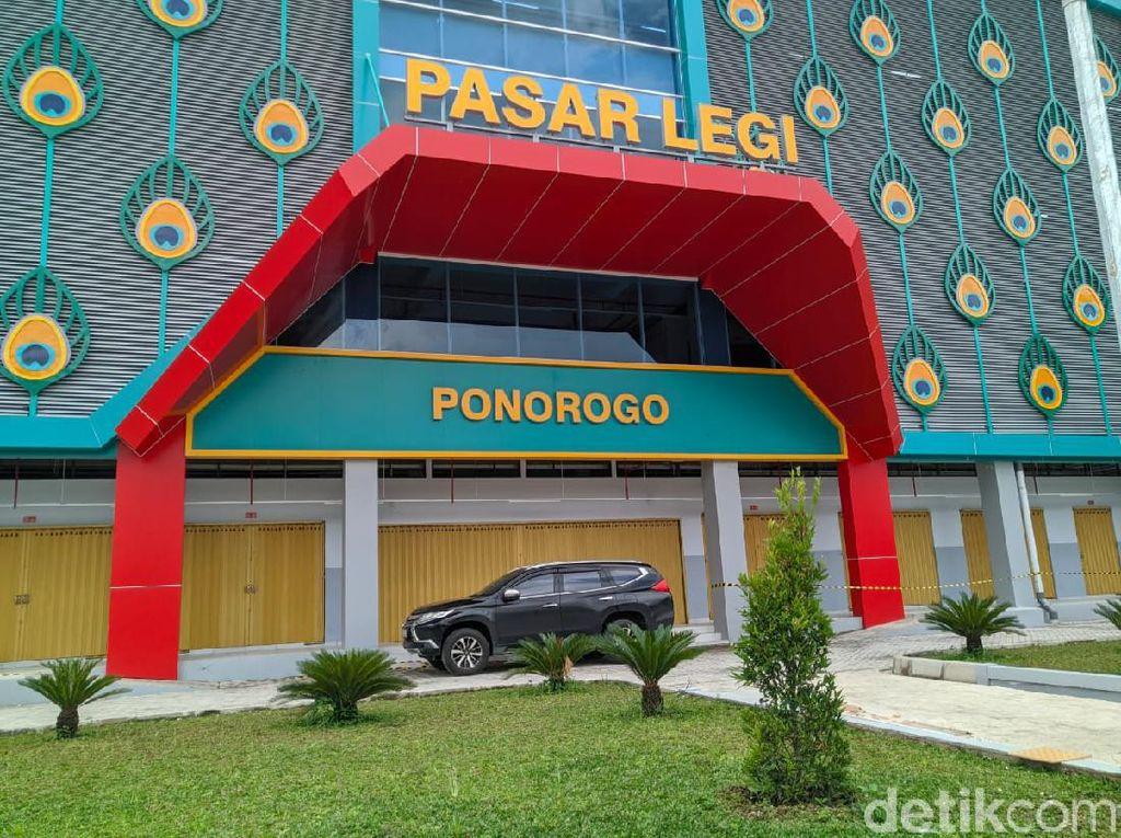 Telan Anggaran Rp 133 Miliar, Pasar Legi Ponorogo Selesai Dibangun