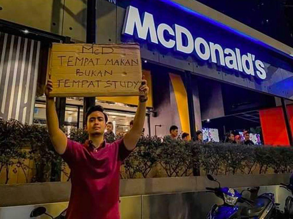 Pro Kontra Netizen Soal McD Tempat Makan, Bukan Tempat Belajar