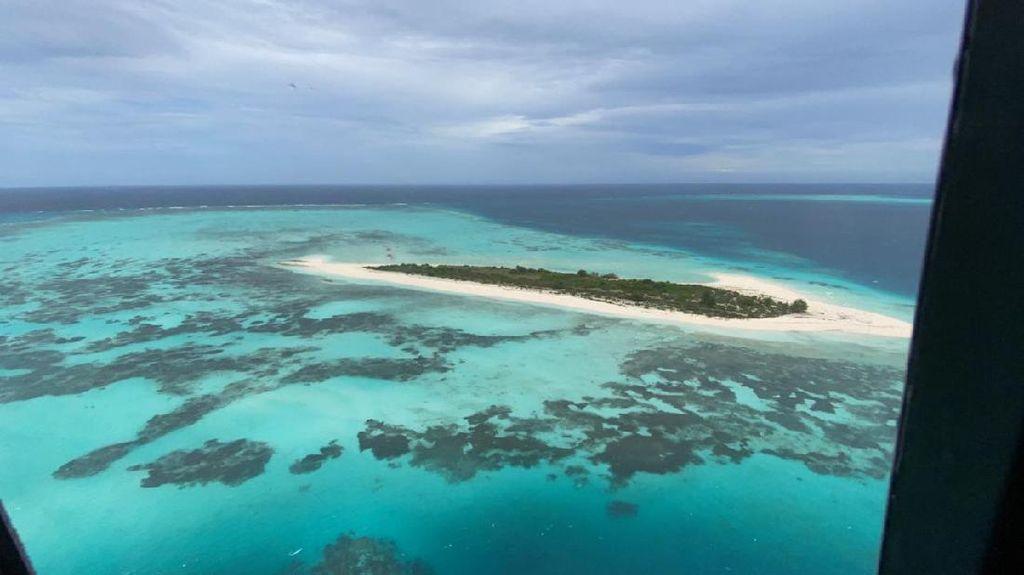 Potret Pulau Lantigiang yang Berada di Atol Terbesar Ke-3 di Dunia