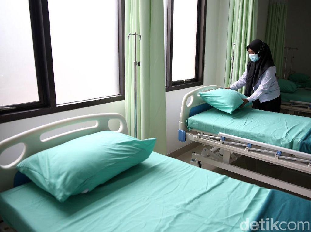 Satgas: Keterisian Tempat Tidur di Faskes Berhasil Berkurang Signifikan